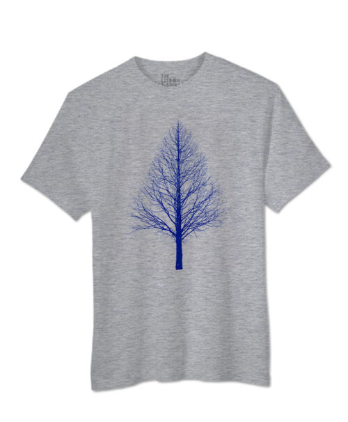 Blue Pyramid Tree T-shirt