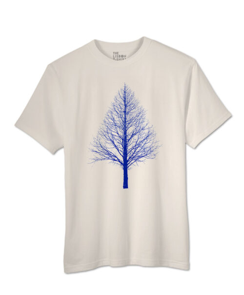 Blue Pyramid Tree T-shirts