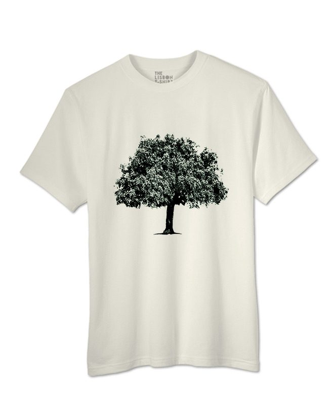 Coark Oak t-shirt natural creative Lisbon