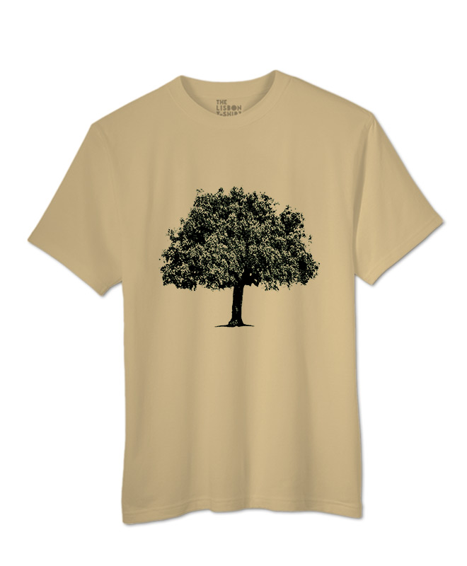 Coark Oak t-shirt sand creativelisbon