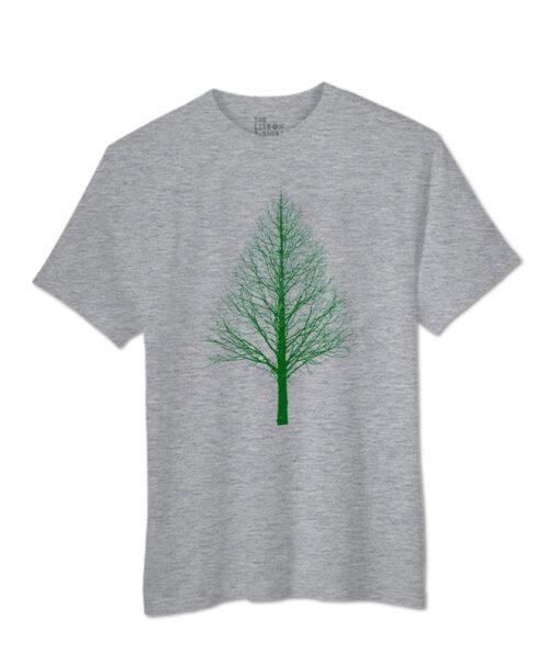 Green Pyramid Tree T-shirts