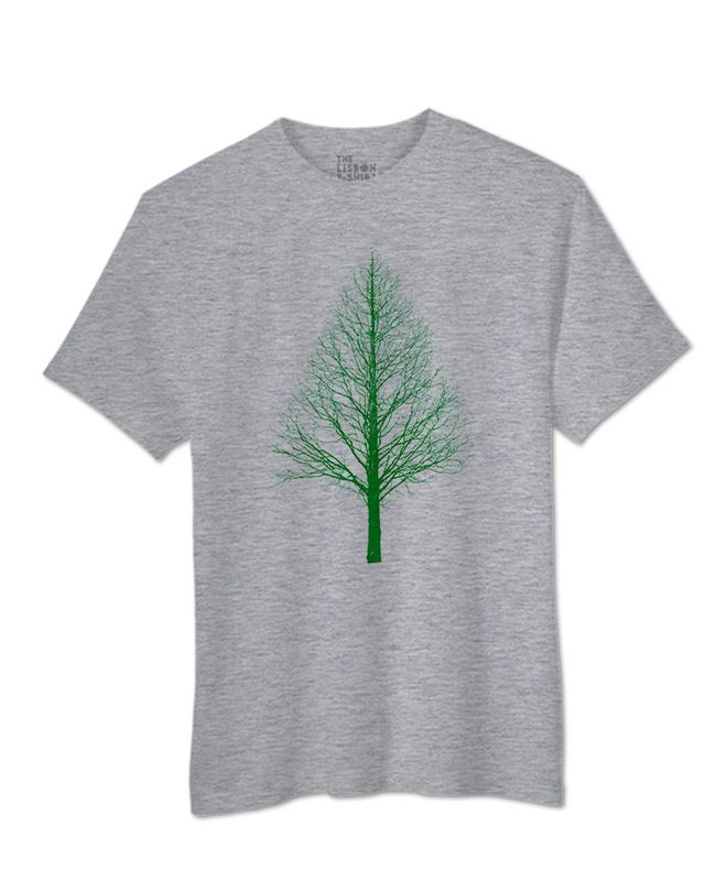 Green Pyramid Tree T-shirts