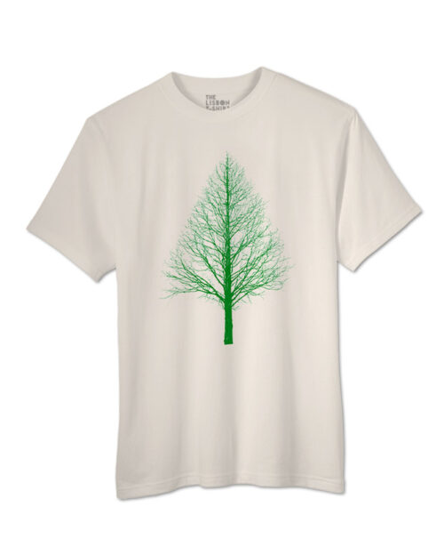 Green Pyramid Tree T-shirt