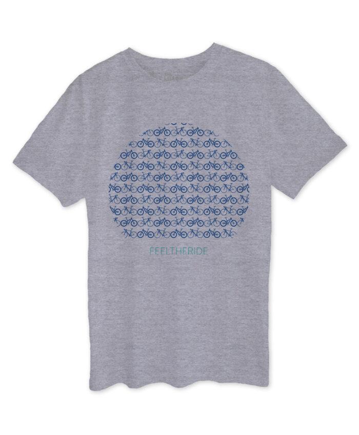 Mini Bikes Grey T-shirt