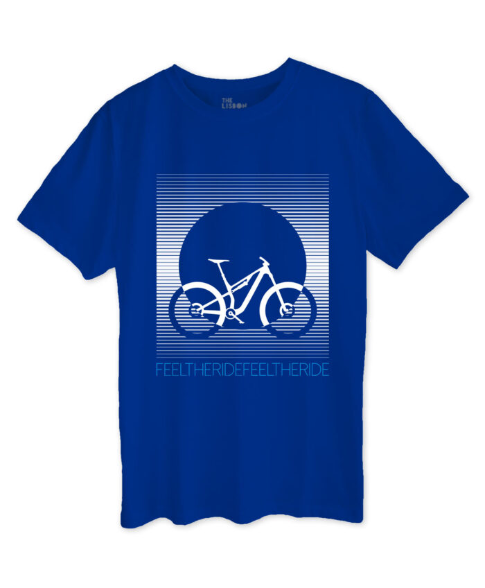 Bike Stripes MTB T-shirt Royal Blue