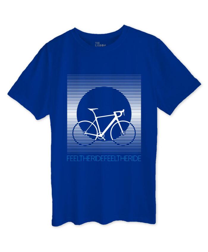 Bike Stripes Road T-shirt roayla blue