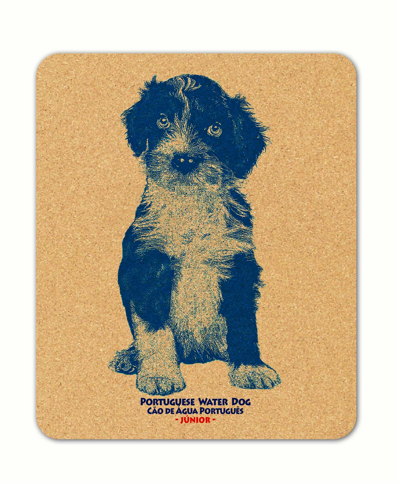 Water dog puppies mousepad