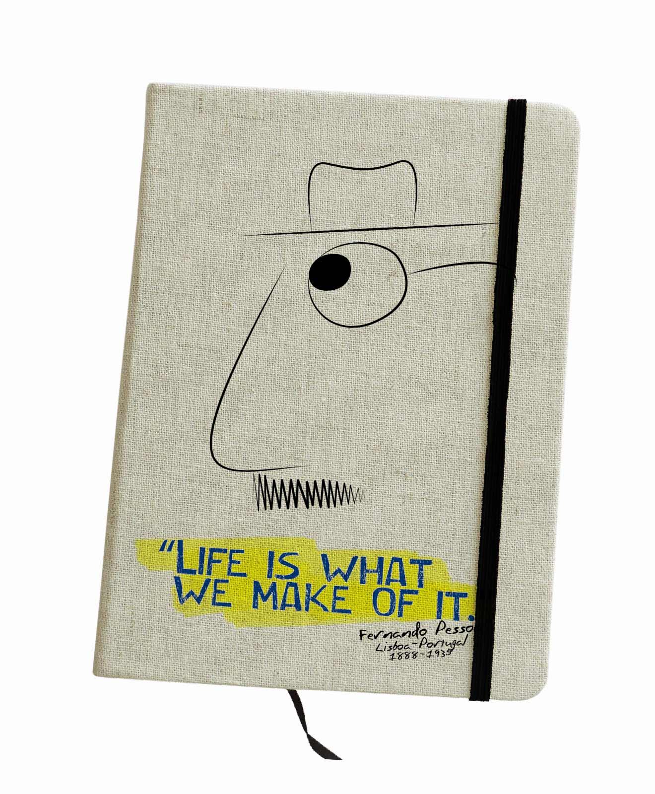 Pessoa's Life Notebook