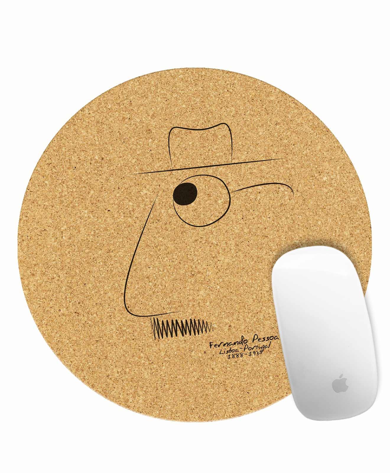 Pessoa Round Mousepad
