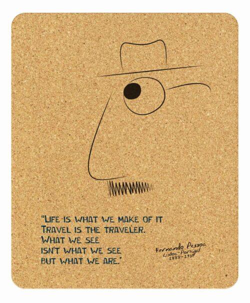 Pessoa's Life Rectangular Mousepad