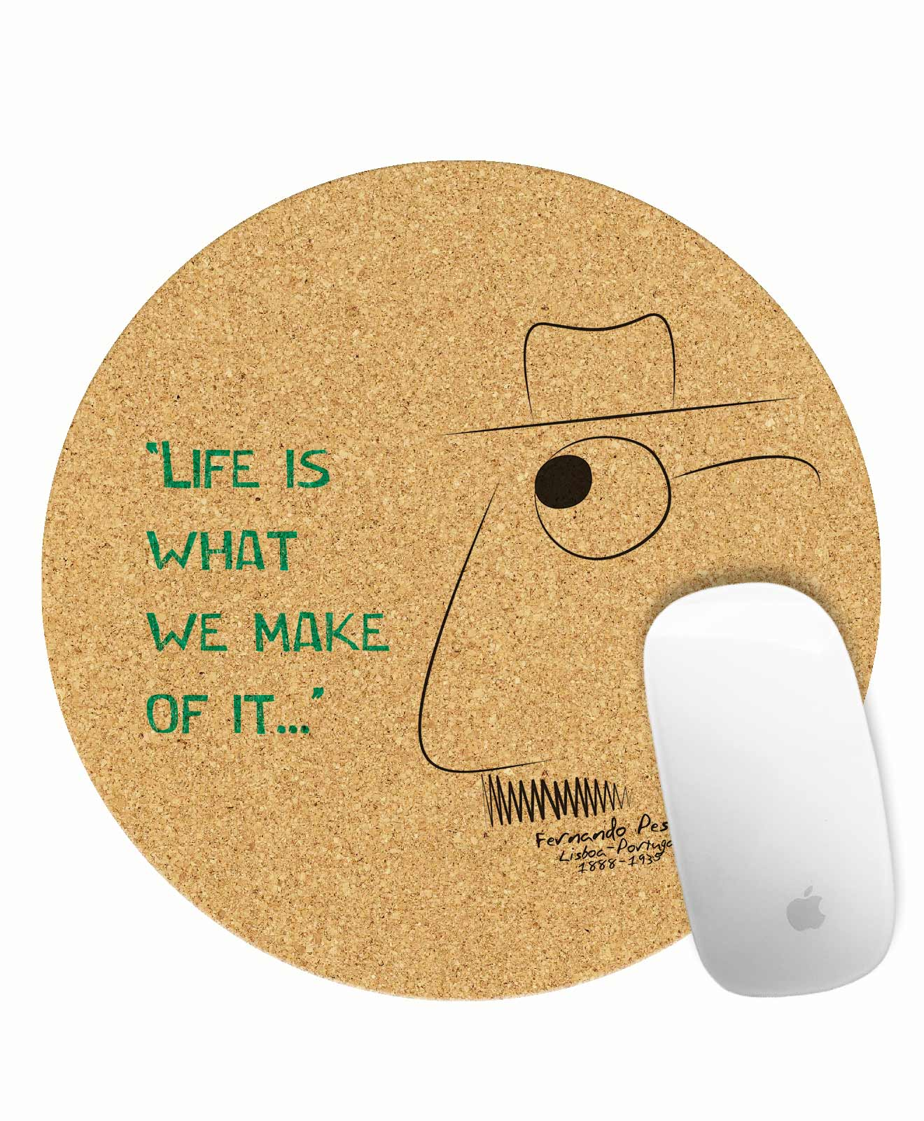 Cork Mouse Pad Life