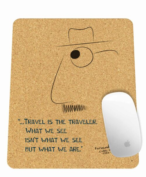 Pessoa's Travel Rectangular Mousepad