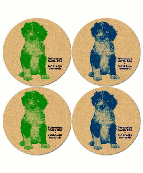 Water Dog Puppies Coasters