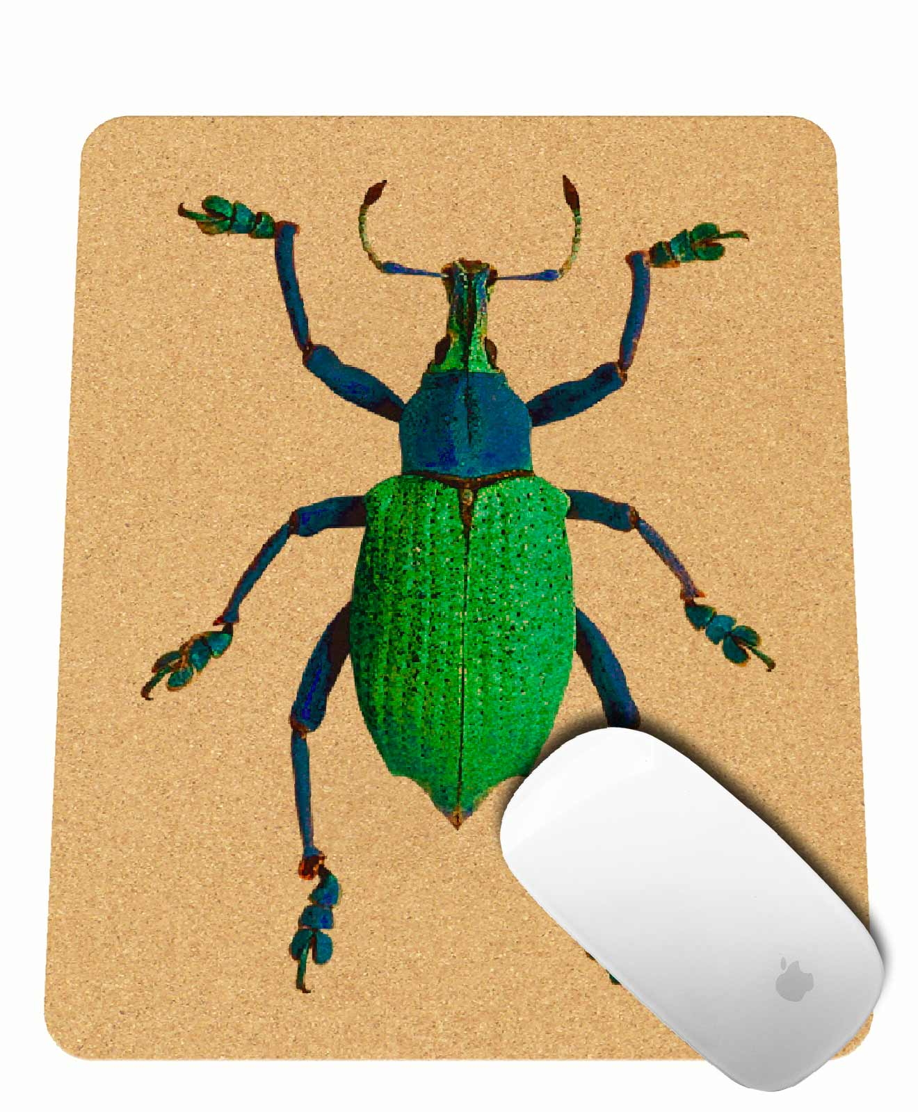 Friday Bug Cork Mousepad rectangular