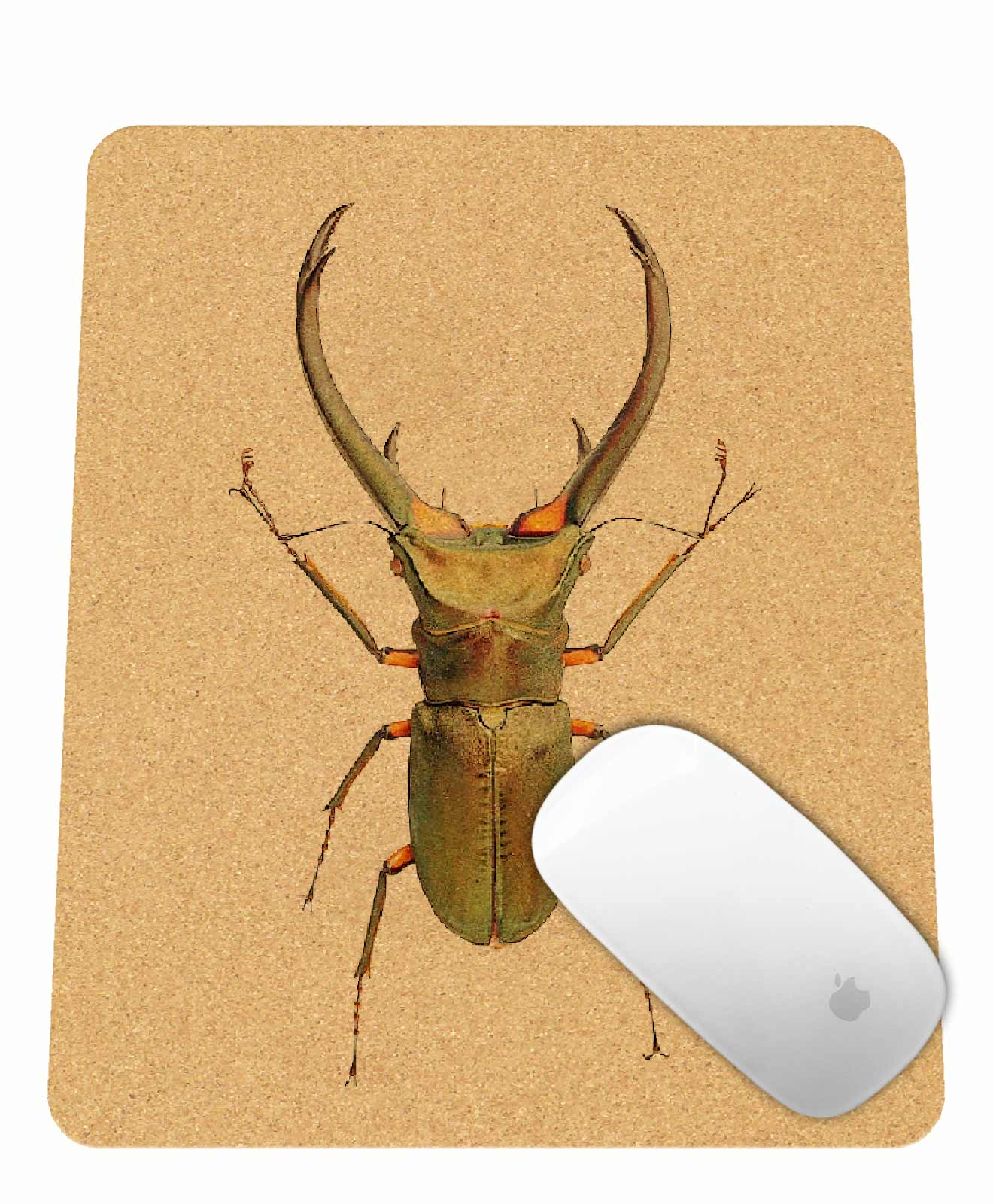 thursday Bug Cork Mousepad rectangular