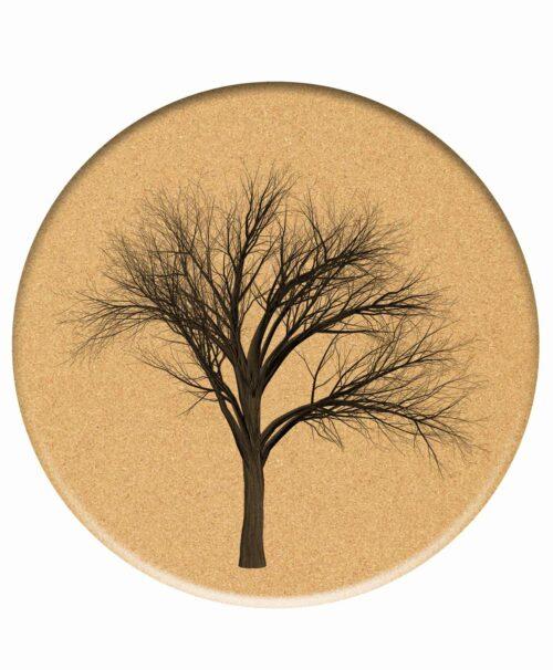 Cork Trivet Neked Tree