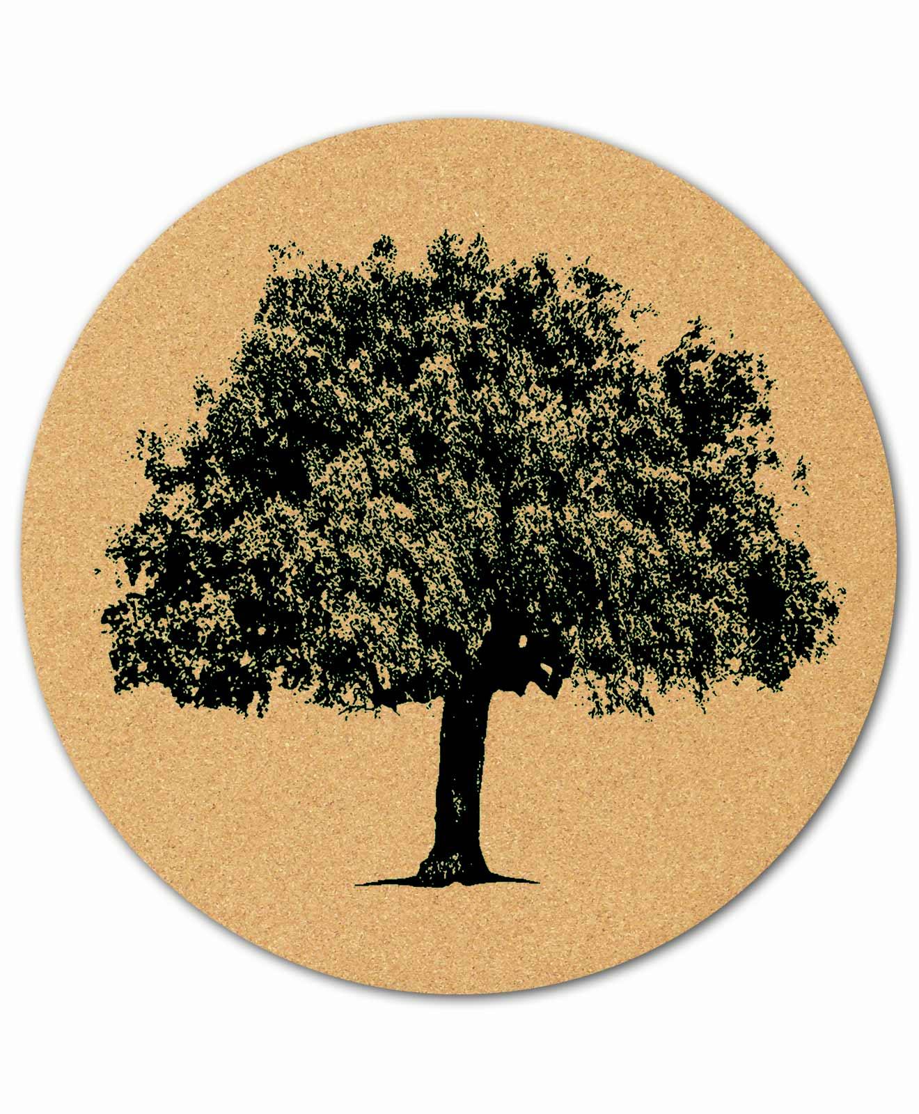 Mouse Pad Cork Oak