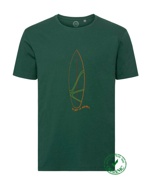 Organic Cotton Tee Surf Hawaii