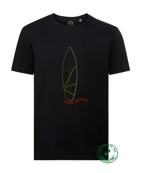 Organic Cotton Tee Surf Nazaré