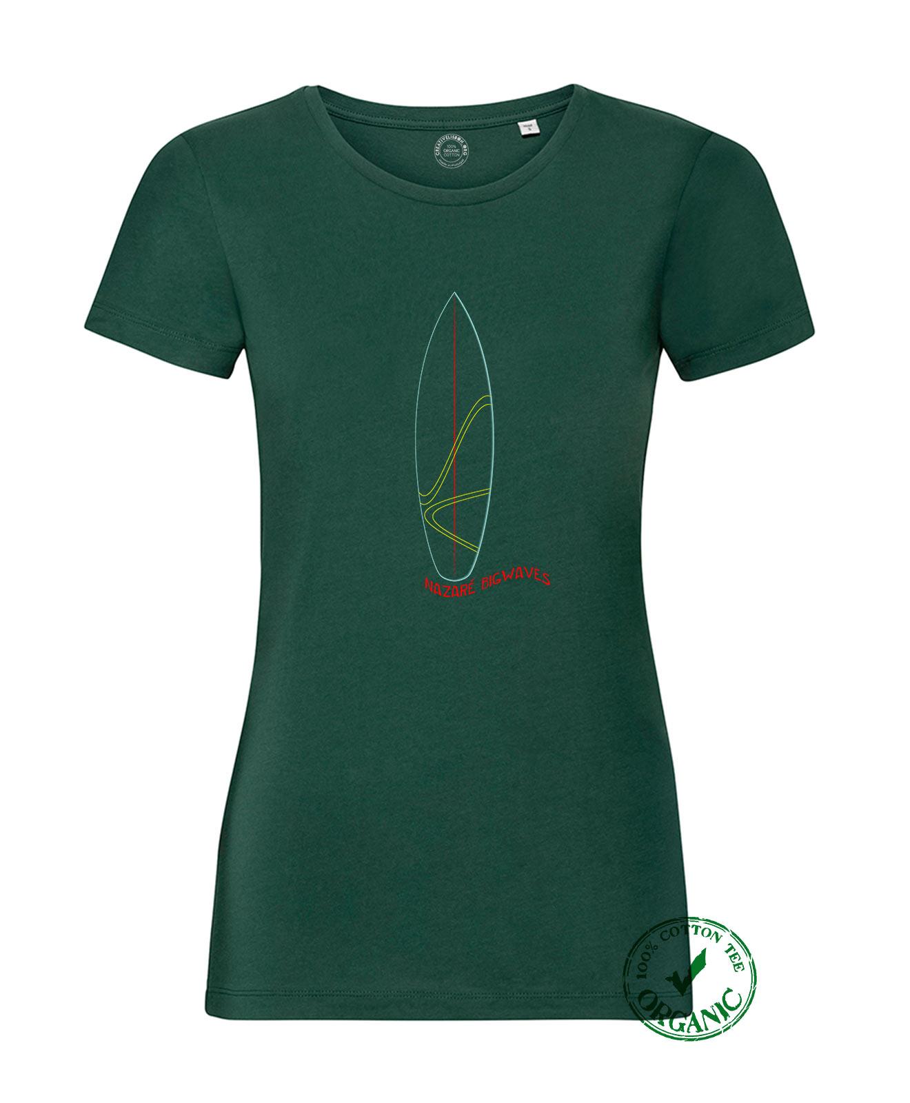 Organic Woman Tee Surf Nazaré