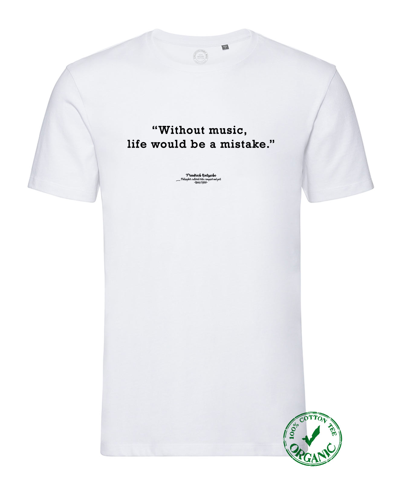 Nietzsche Without Music T-shirt