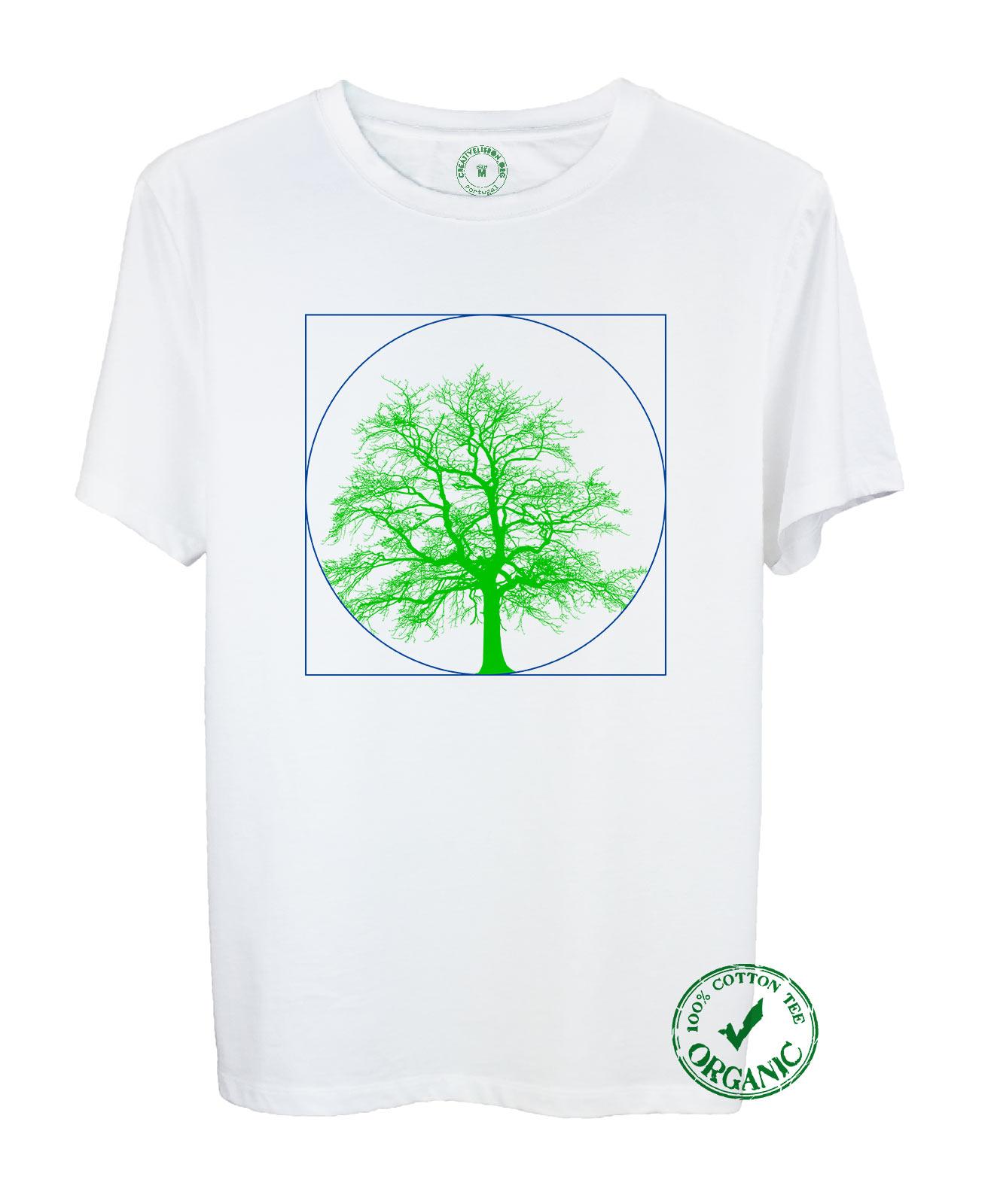 Portrait of a Tree Organic Tee