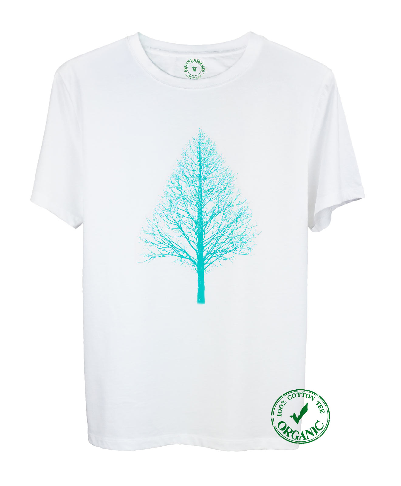 Pyramid Tree Organic T-shirt