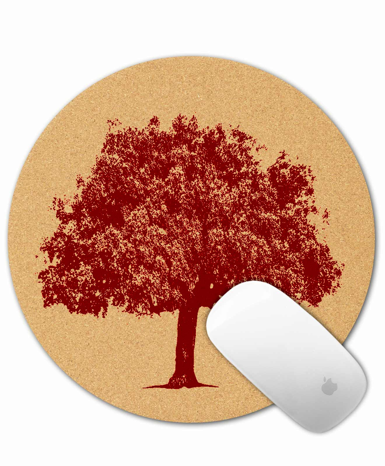 Mouse Pad Cork Oak