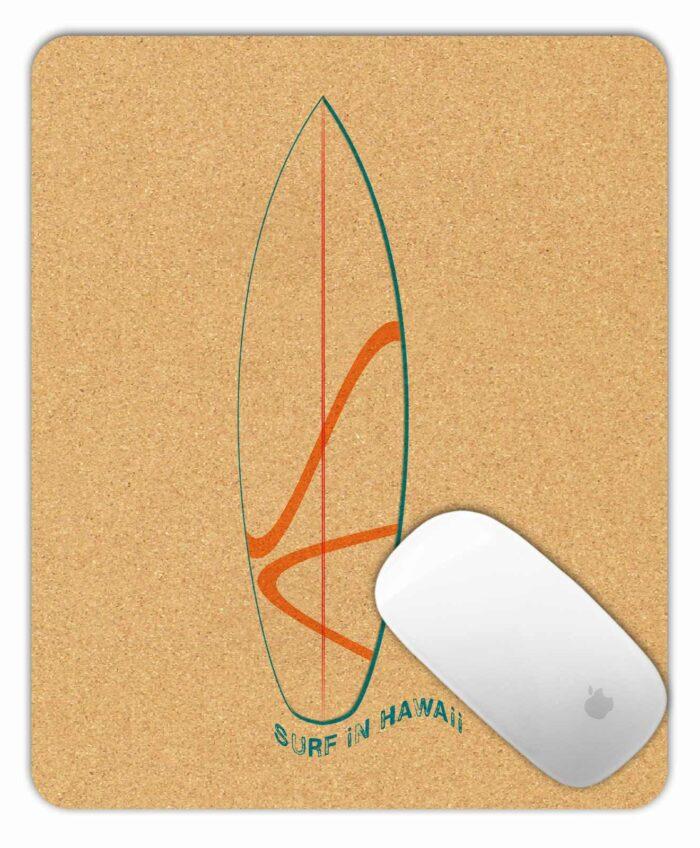 Cork Mousepad Surf Hawaii