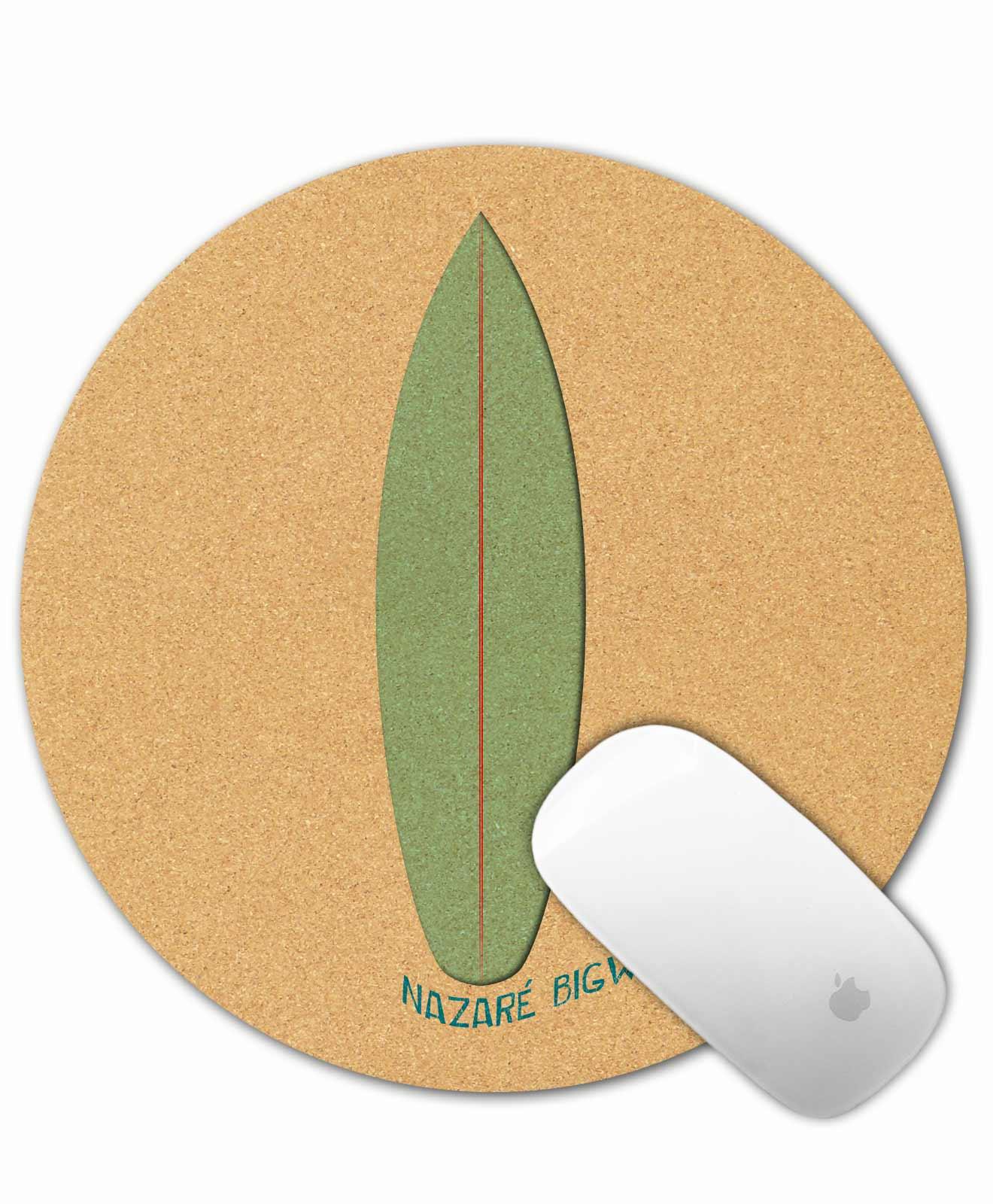 Cork Mousepad Surf Nazaré