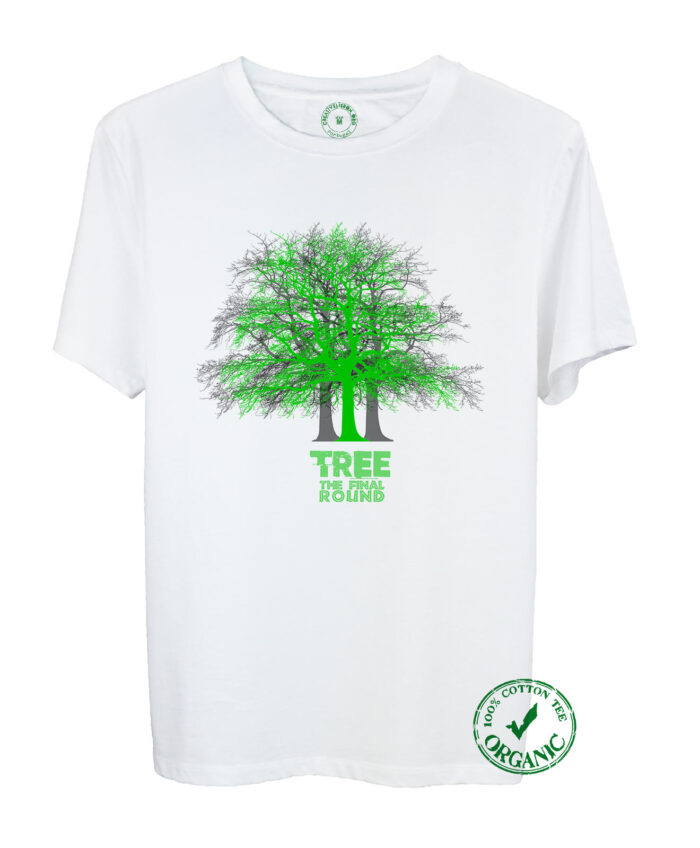 Tree Illusion Organic Tee