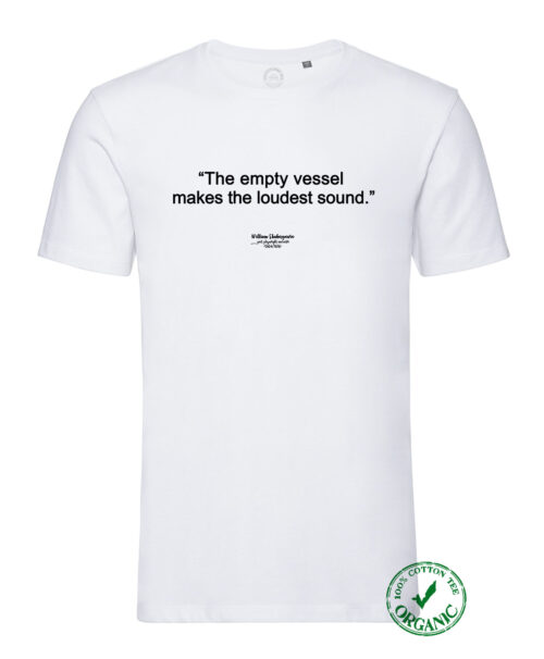 Shakespeare Quote Organic tee