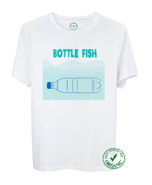 Organic Tee Bottle Fish