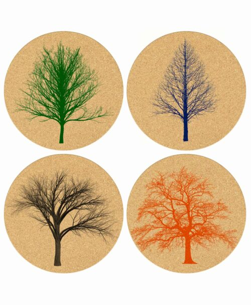 Coasters Naked Trees
