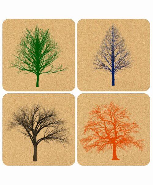 Coasters Naked Trees