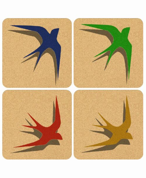 Coasters Solitary Swallow