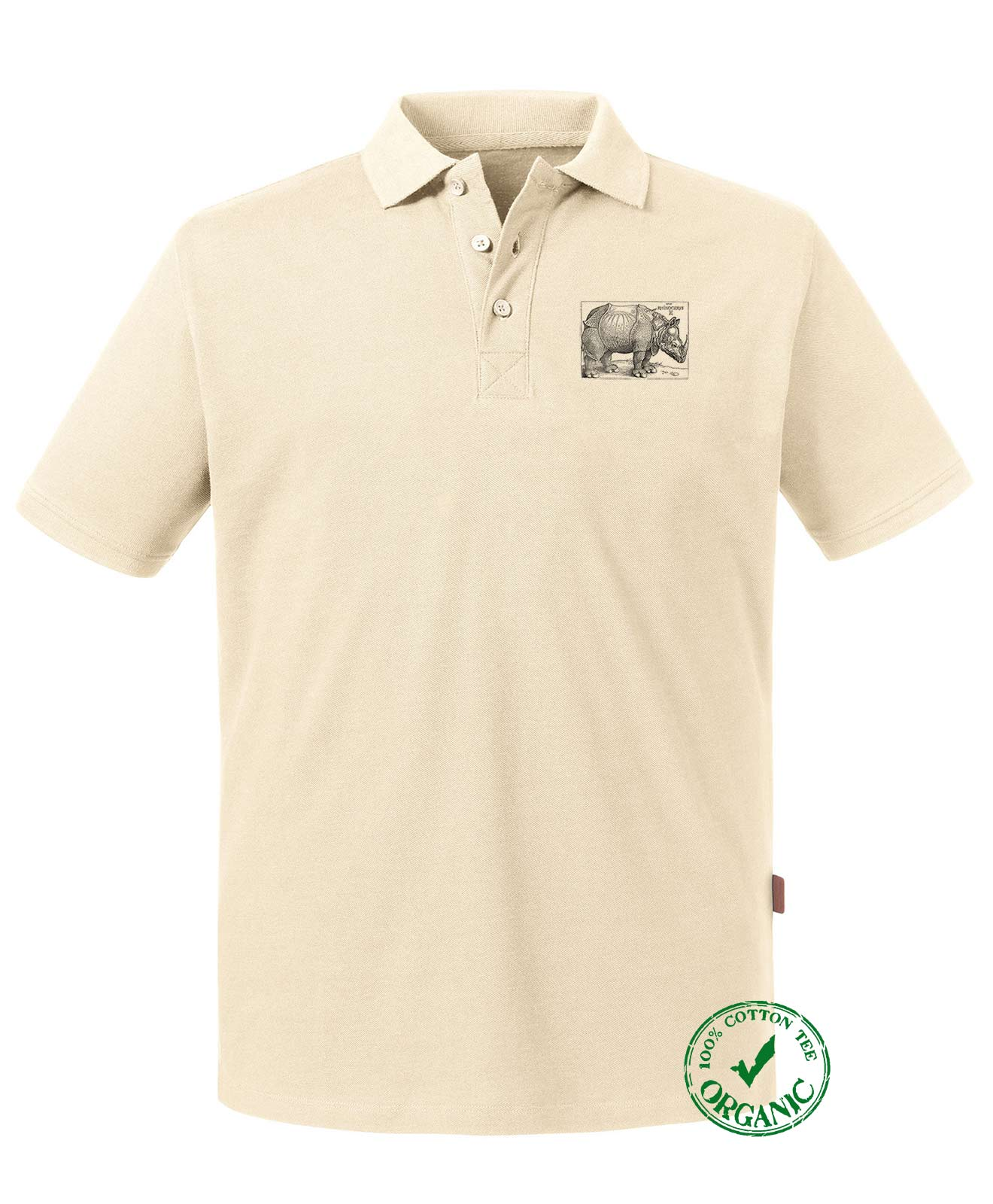 Rhinocerus Organic Polo Shirt