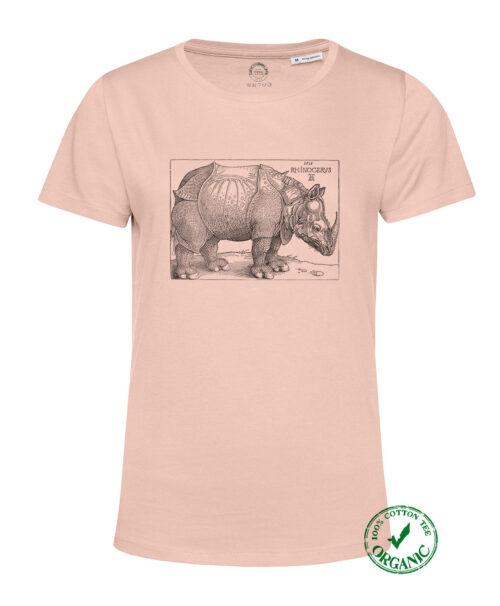 Rhinocerus Organic Woman T-shirt
