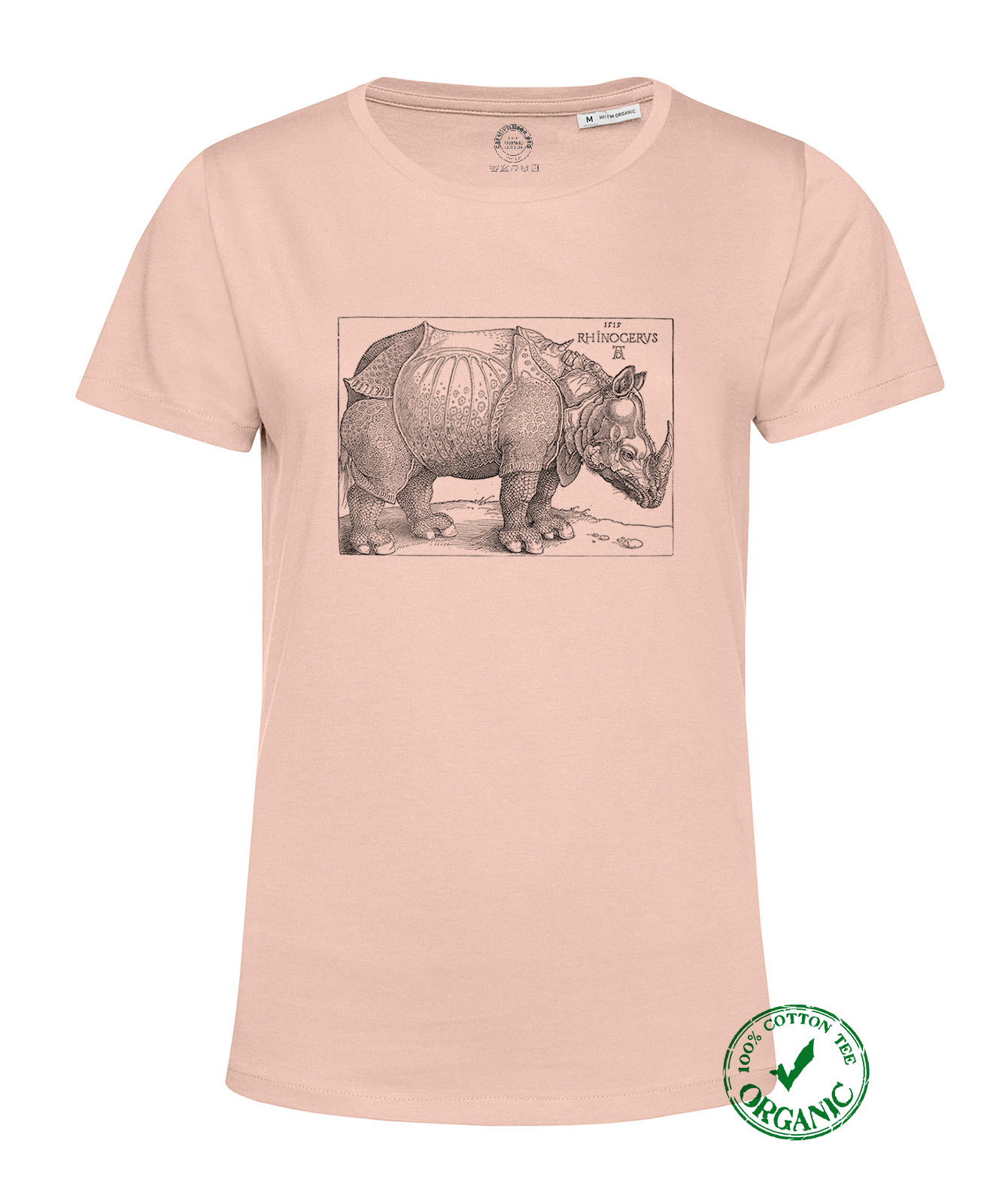 Rhinocerus Organic Woman T-shirt