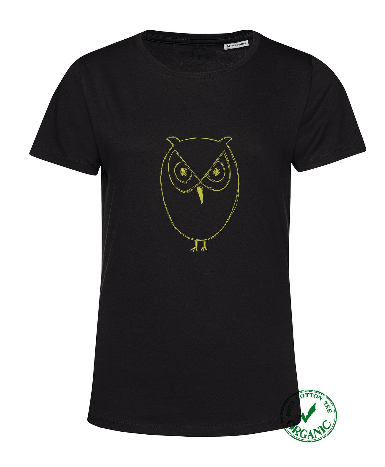 Owl Organic Woman Tee