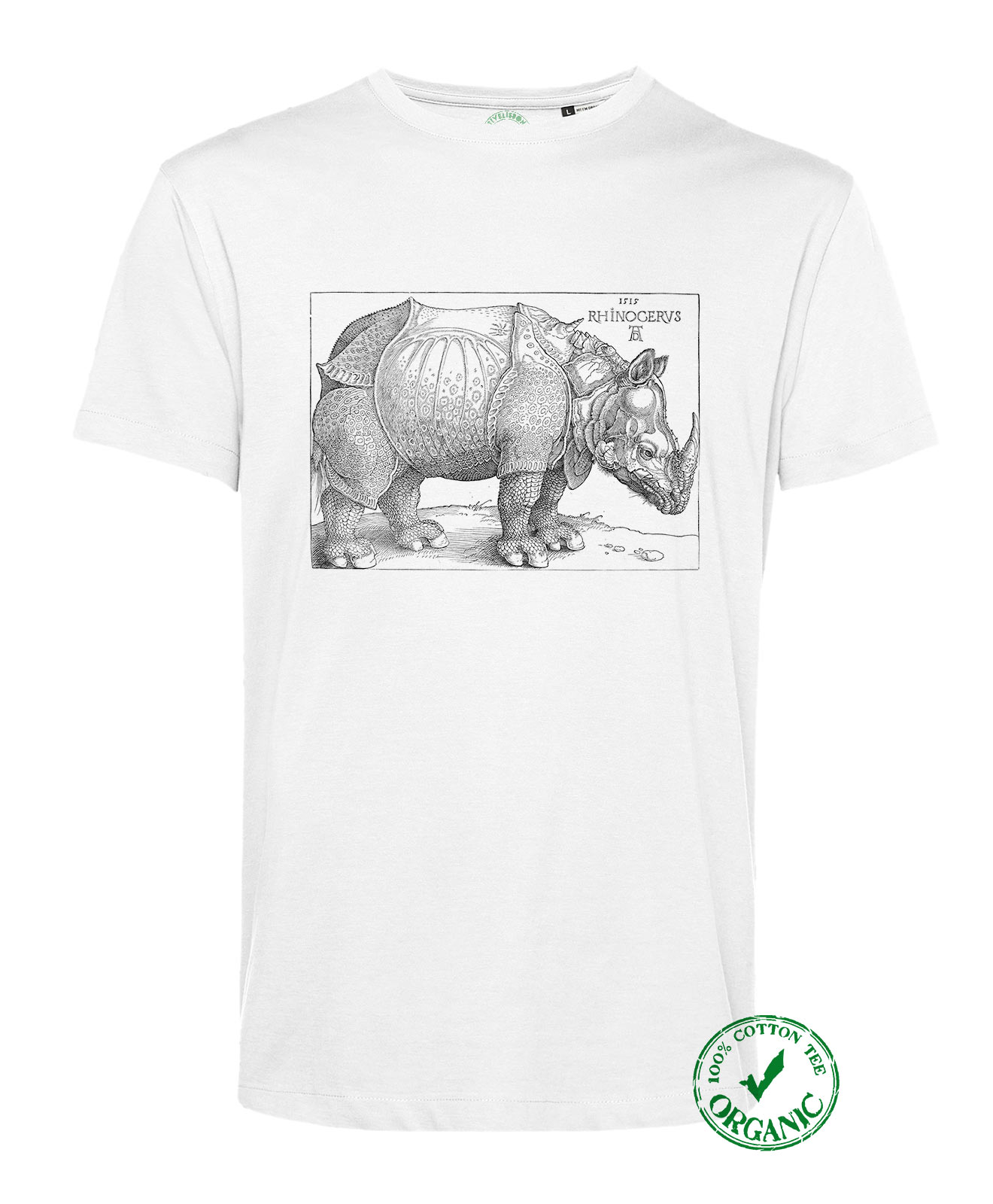 Rhinocerus Recycled Cotton T-shirt
