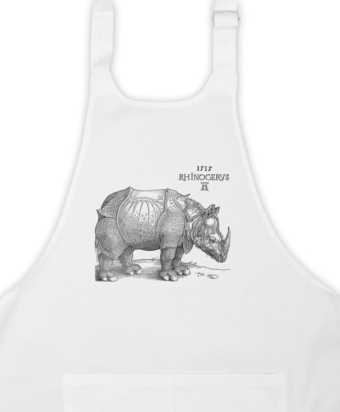 Rhinocerus White Apron Detail
