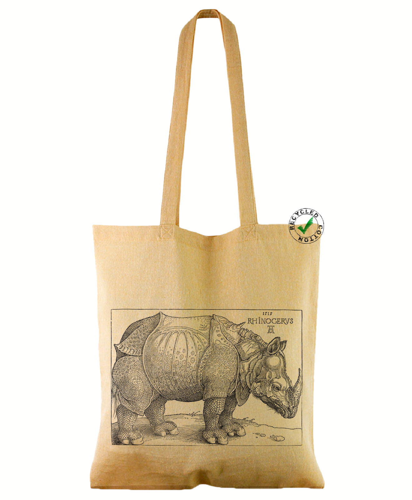 Rhinocerus Recycled Cotton Bag