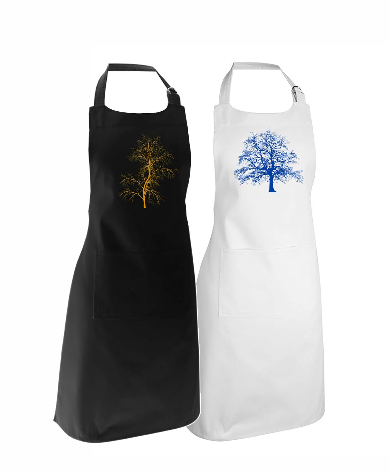 Trees Apron Duo