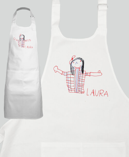 Personalized Cotton Apron