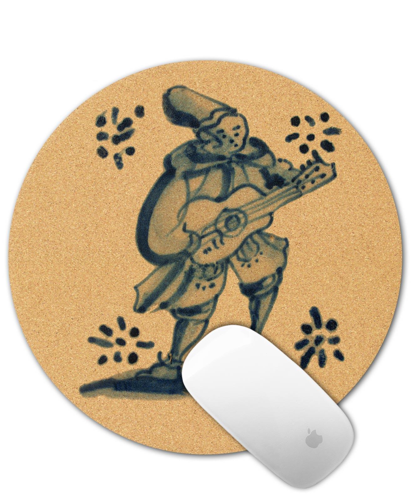 Tile Cork Mouse Pad