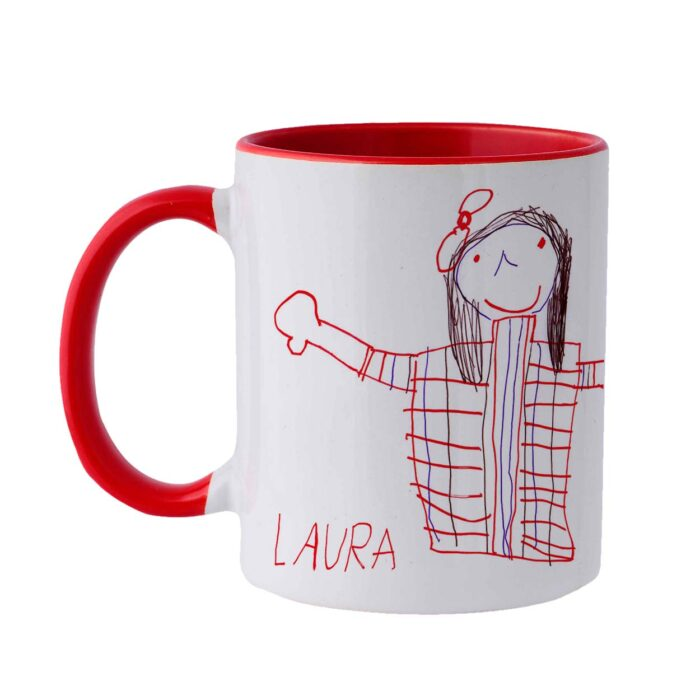 Personalized white Mug Laura