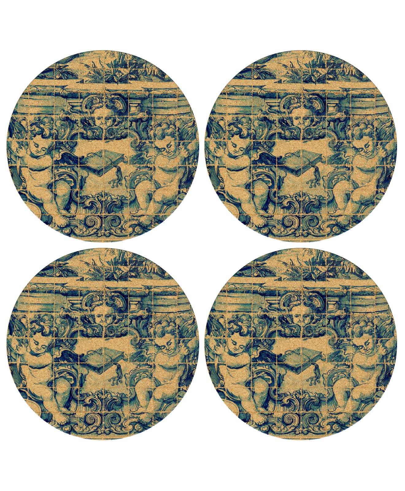 Angels Tille Coasters Set 1