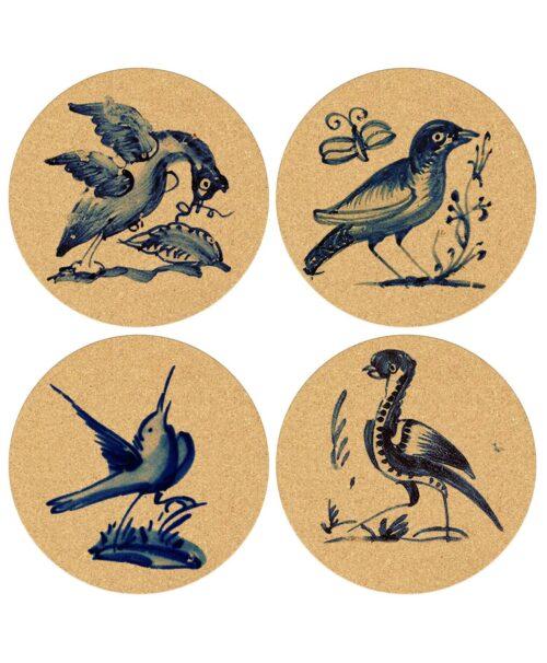 Coasters Blue Birds