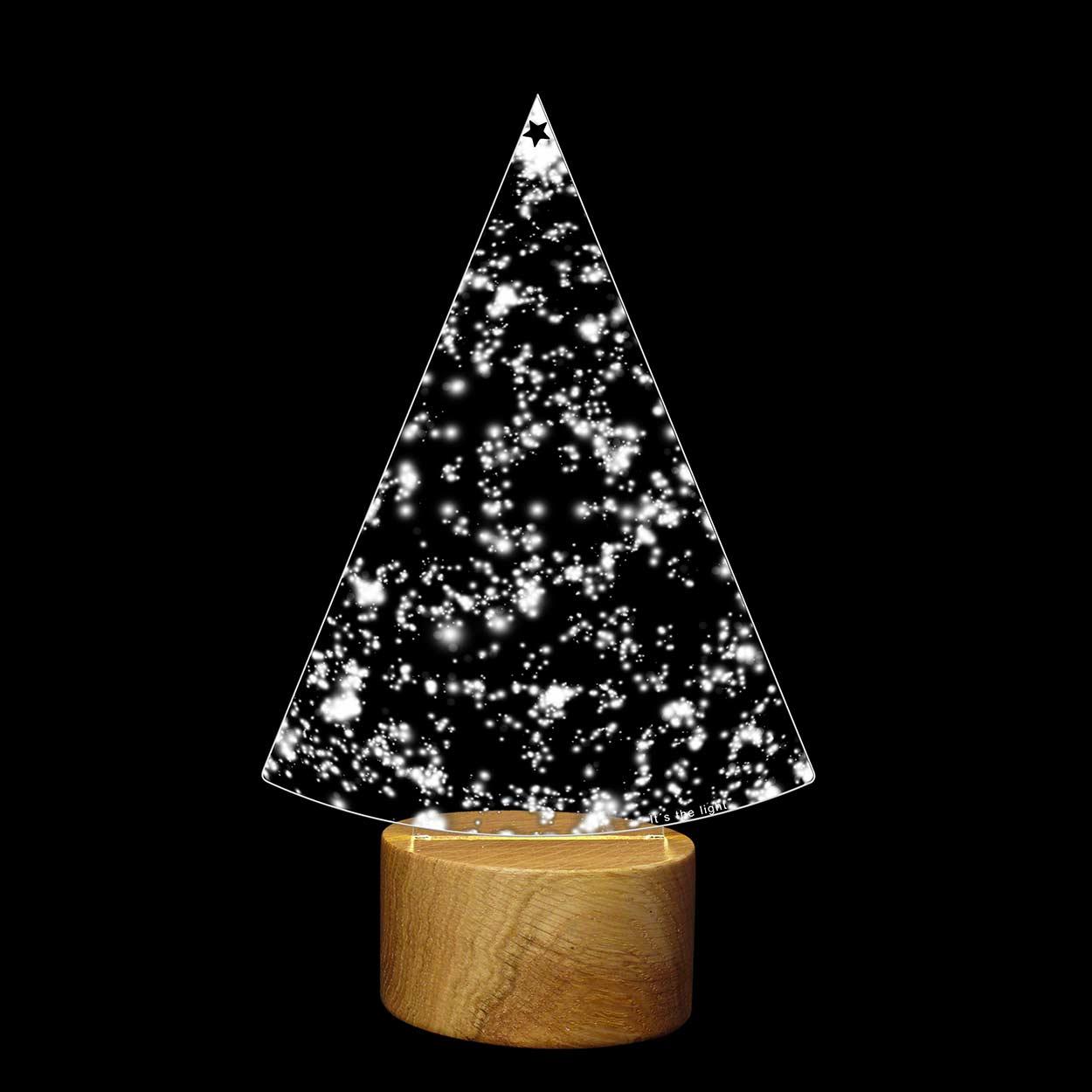 Modern Christmas Tree Light